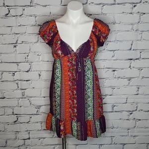 Forever 21 Peasant Boho Dress